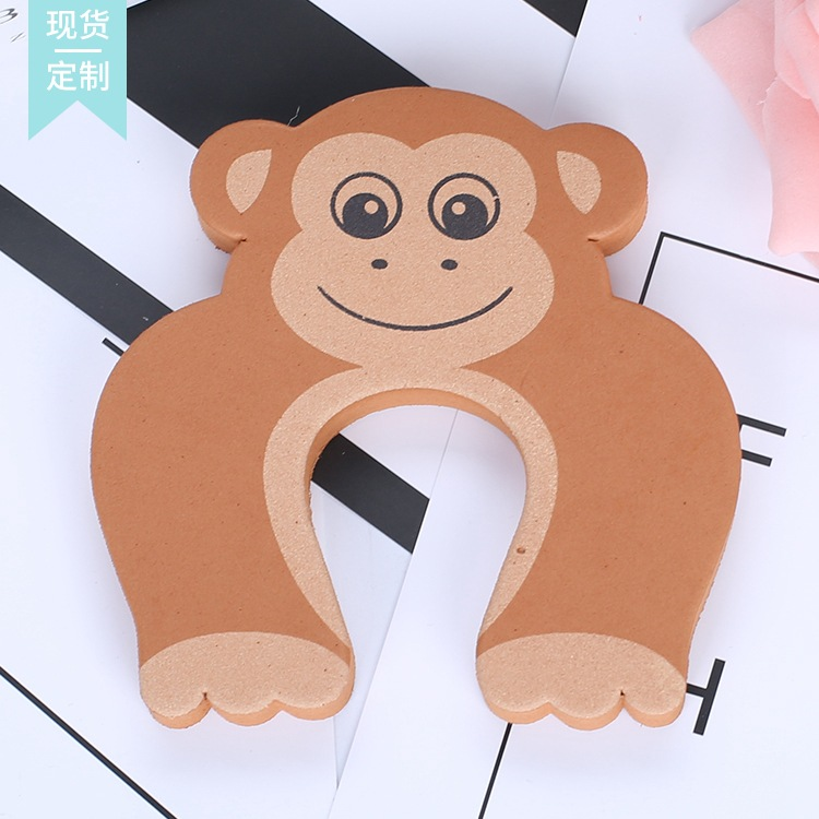 2pcs Baby Child Proofing Door Stoppers Finger Safety Guard Random Holder Lock Safety Guard Finger Protect Toy For Baby