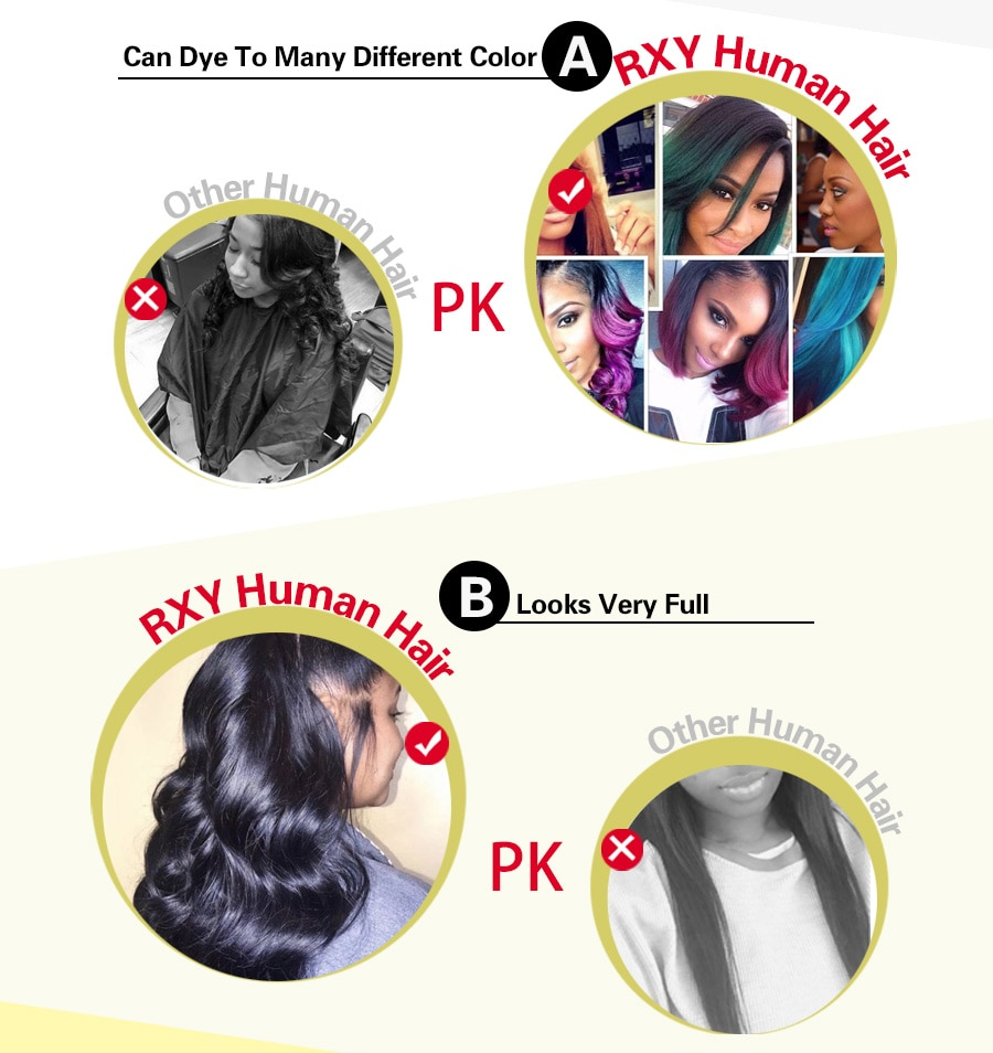 Rxy 360 Lace Frontal Wig Pre Plucked With Baby Hair Curly Human Hair Wig Brazilian Human Hair Wigs For Women Remy Deep Curly Wig