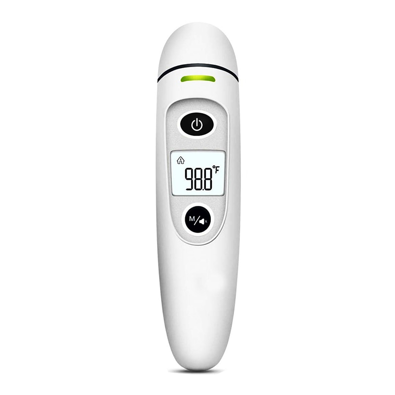 Health Care Baby Thermometer Digital Infrared IR LCD Baby Forehead and Ear Non-Contact Adult Body Fever Measurement Termometro