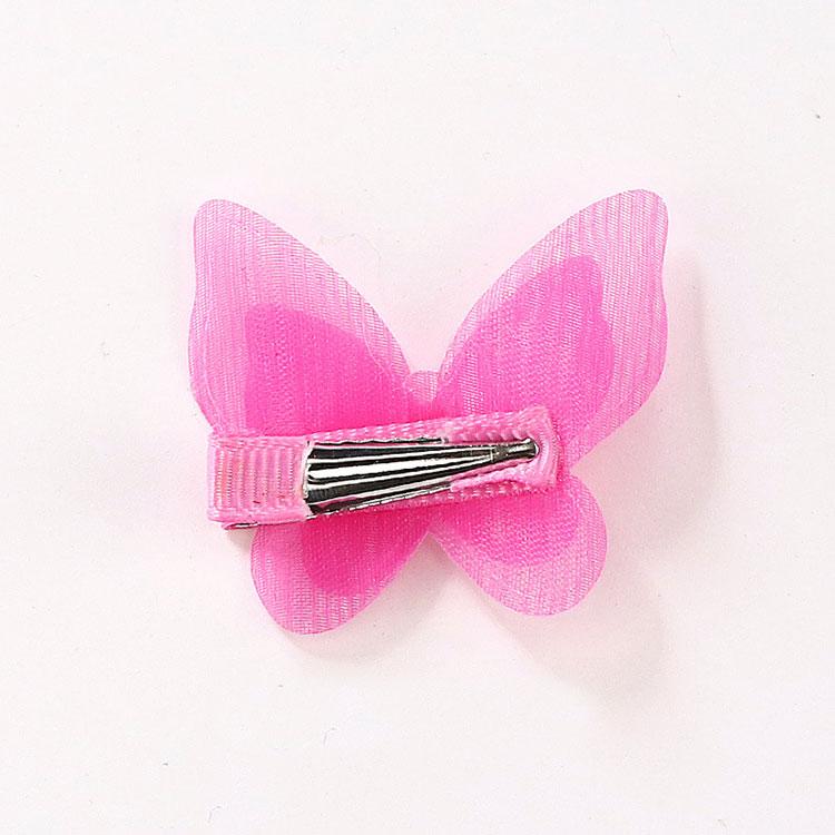 1 Pc Pearl Cute Butterfly Hair Clips Snow Yarn Princess Girls Baby Hair Pins Barrette Women Hairpins Side Clip Hair Accessories