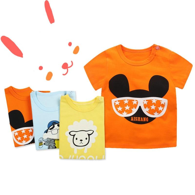 Unini-yun Brand Baby Boy Shorts Girls Shorts Baby Bloomers Summer Kids Girls Boys Shorts Cartoon Pattern Kids Summer pants