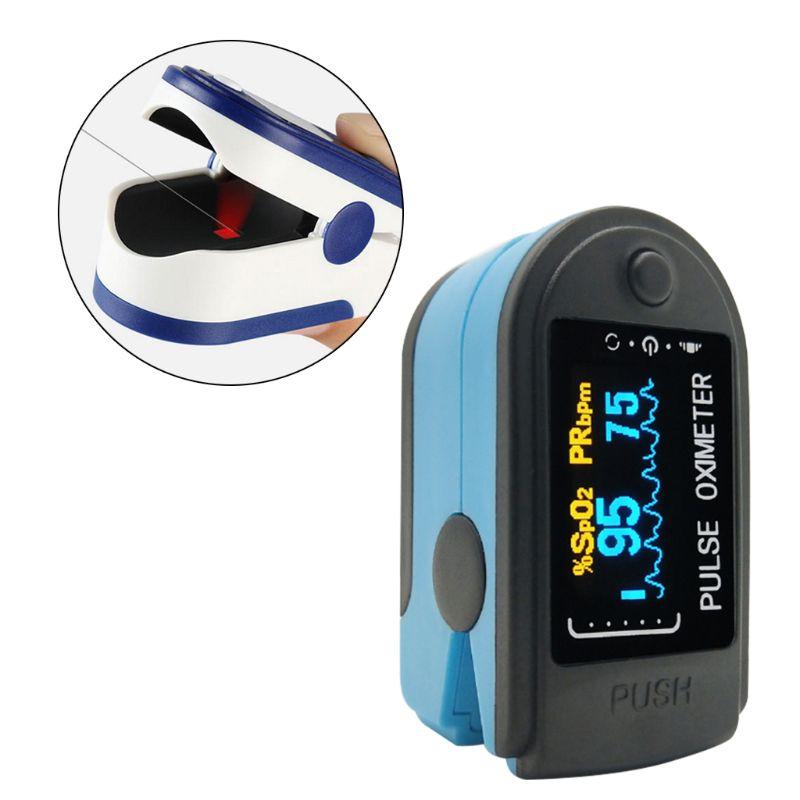 Mini Finger Clip Oximeter Heart Pulse Rate Blood Oxygen Saturation SPO2 Monitor N1HB
