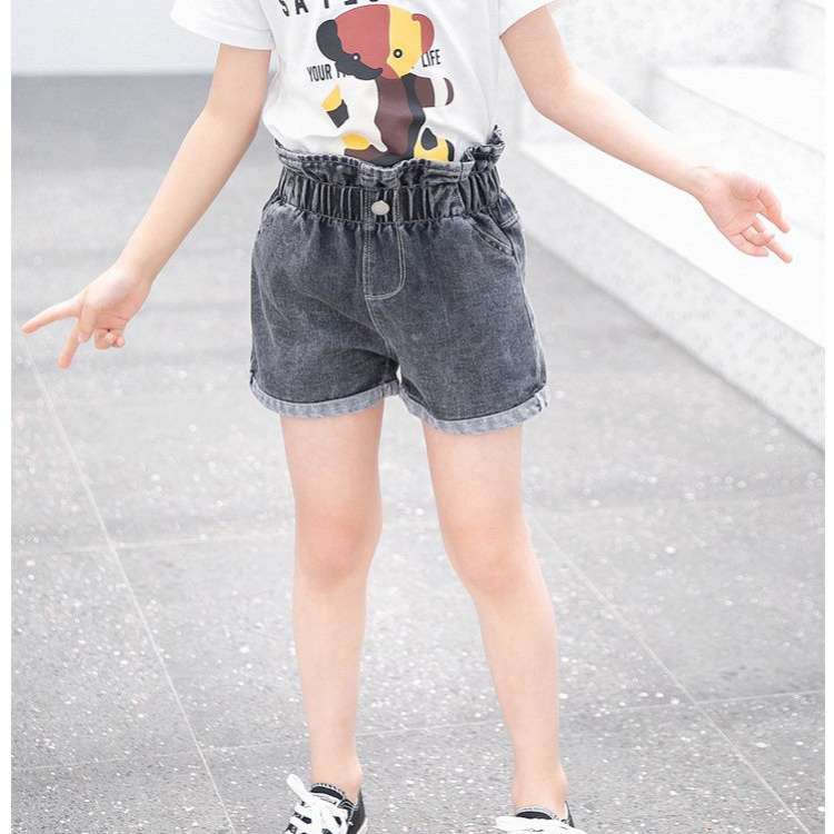 2020 New Baby Girl Shorts  Kids Denim Shorts for Girls Summer Clothing Children Jeans Short Pants Girl Demin Trousers Clothes