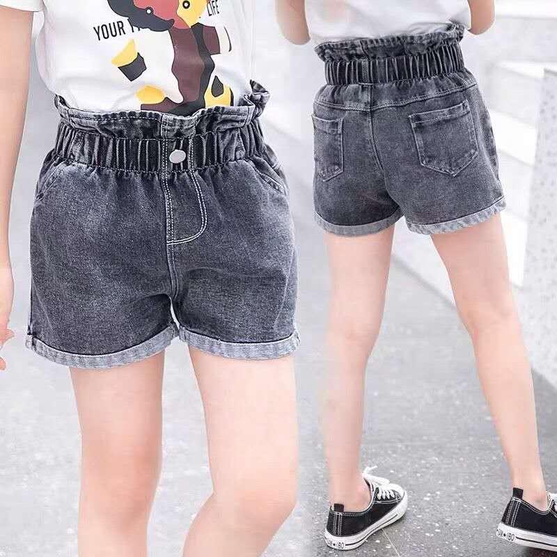 2020 New Baby Girl Shorts  Kids Denim Shorts for Girls Summer Clothing Children Jeans Short Pants Girl Demin Trousers Clothes