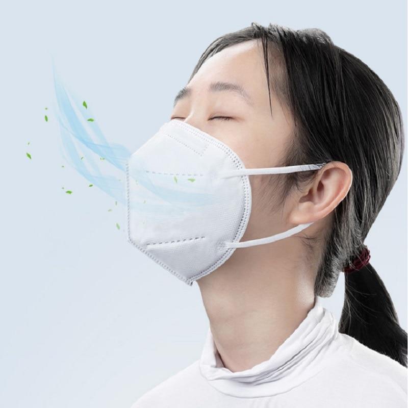 100PCS Masks 6 Layer 99% Filter Mask mouth Face mask