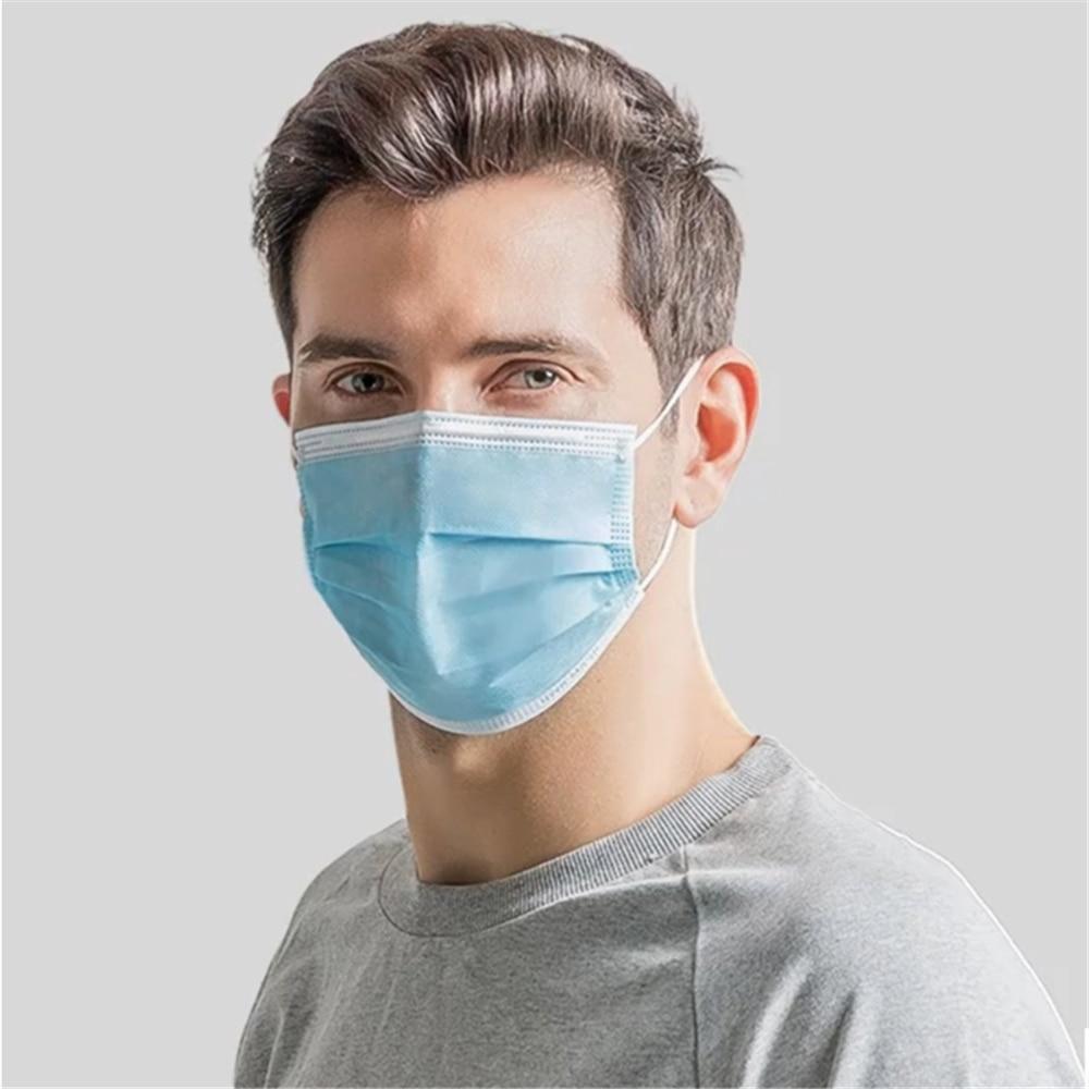 Hot Sale 3-layer mask 50pcs Face Mouth Masks