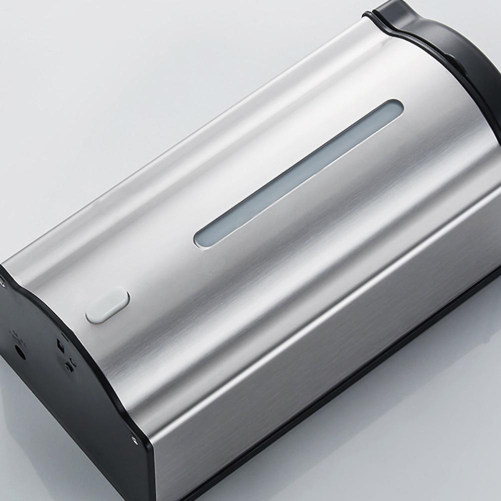 1000ML Automatic Sprayer Soap Dispenser Touchless Sensor Hand Sanitizer Detergent Dispenser Wall Mounted For Bathroom Kitchen
