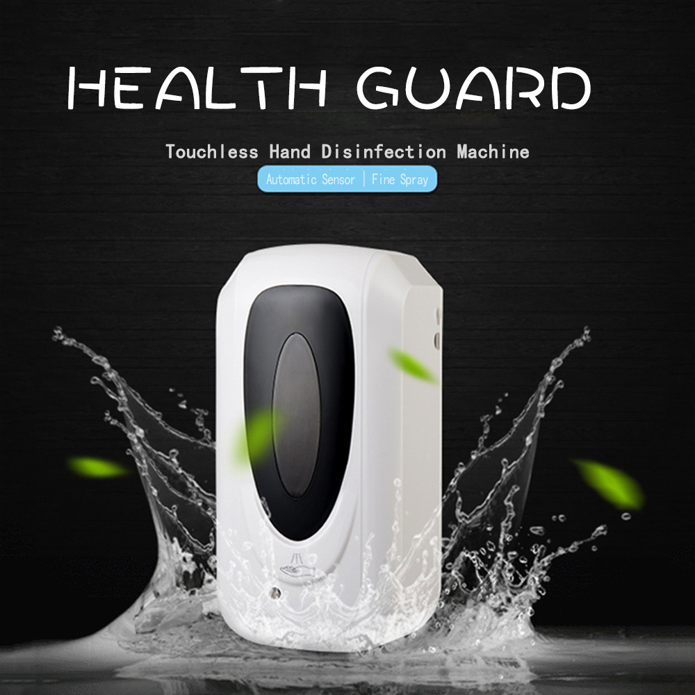 Automatic Disinfection Machine Spray Type Soap Dispenser Bathroom Alcohol Mist Hand Cleaner Spray Sanitizer Disinfection Machine