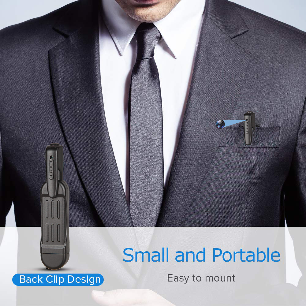 T189 Mini Camera Full HD 1080P Secret Camera Wearable Small Pen Camera Mini DVR Digital Mini DV Camera Espia Support hidden Card