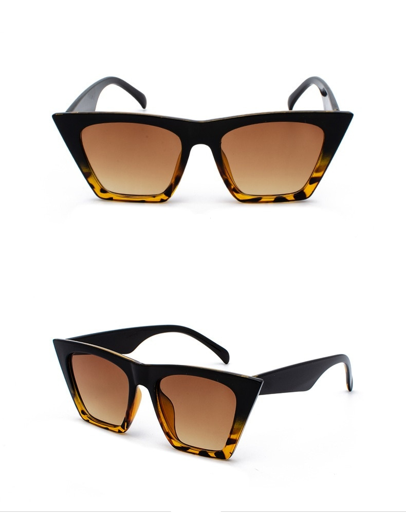 Women's Oversized Cat Eye Sunglasses
