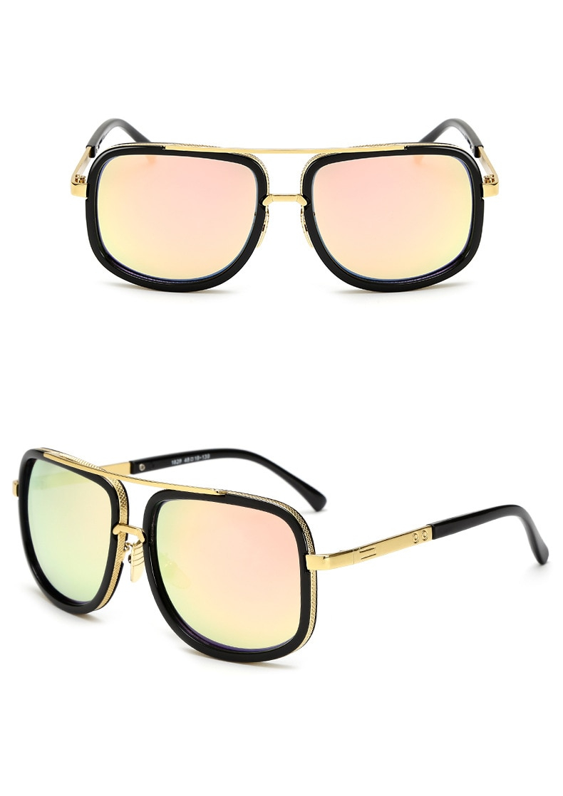 Unisex Classic Oversized Square Sunglasses