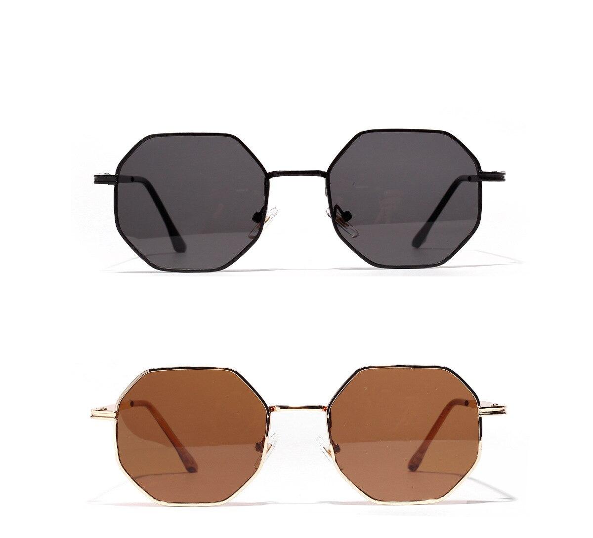 Women's Polygonal Shaped Sunglasses