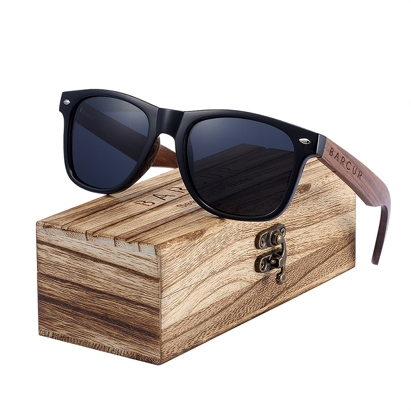 Elegant Wooden Sunglasses
