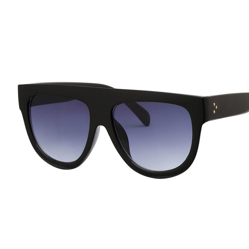 Women's Oversized Flat Top Sunglasses