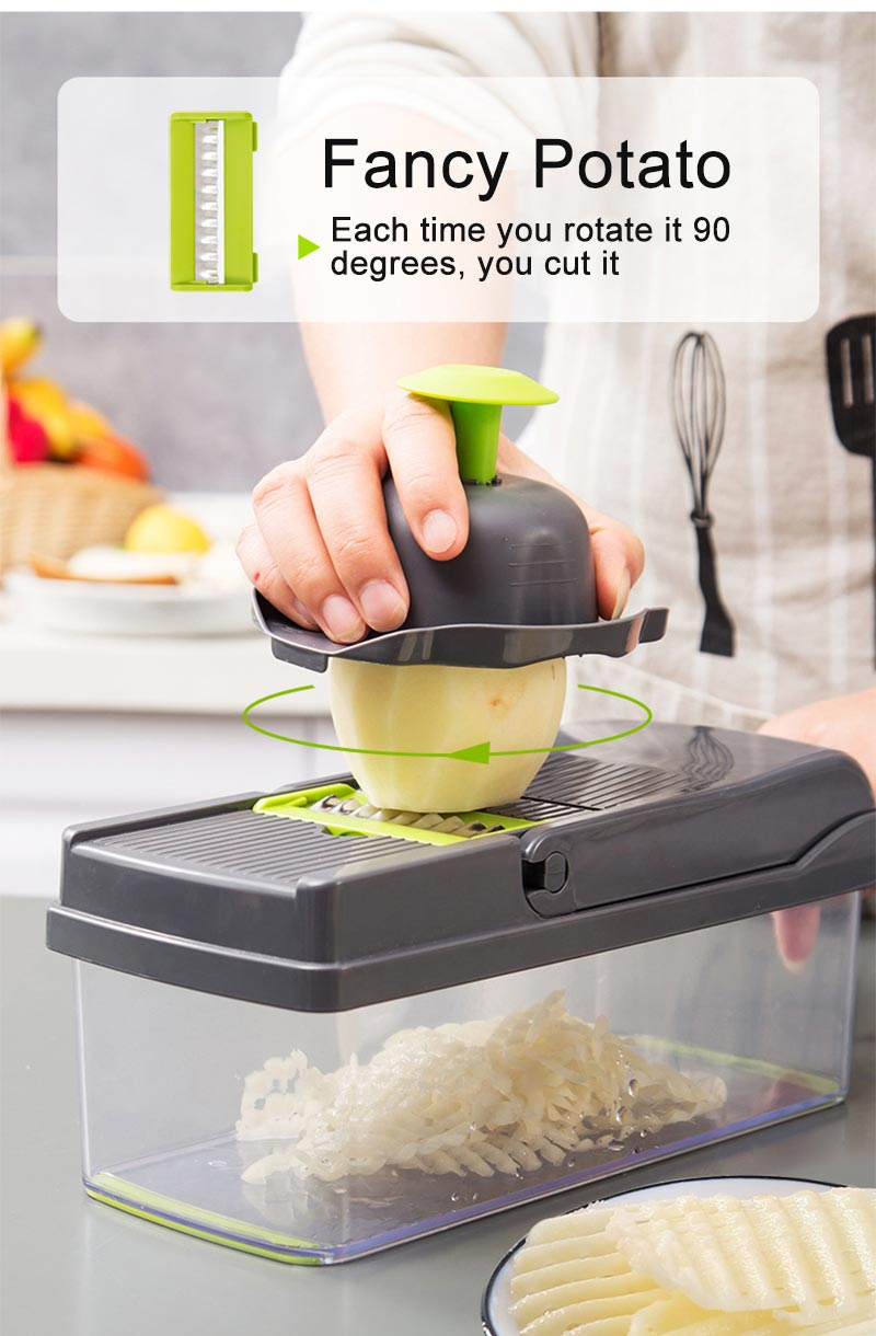 Multifunction Vegetable Cutter Kitchen Gadgets