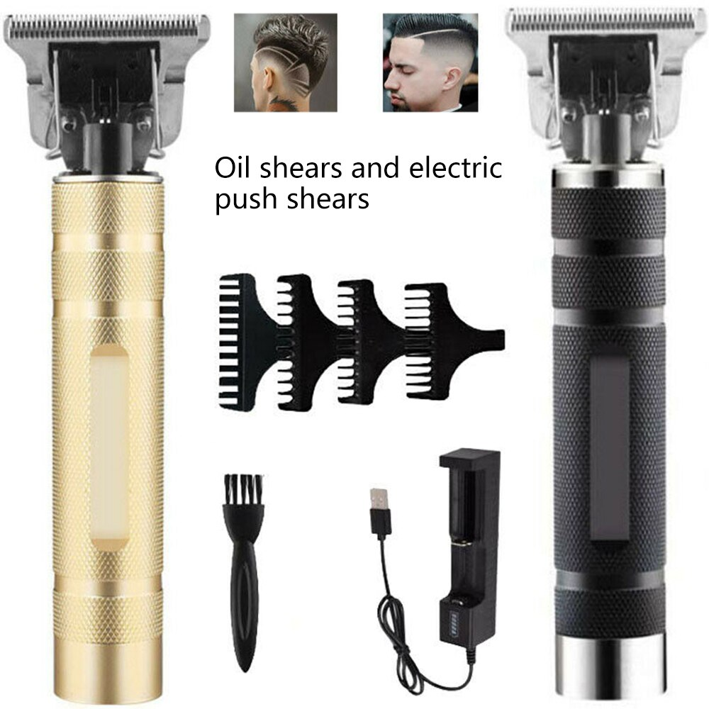Rechargeable T-blade Hair Clipper/ Hair Trimmer For Men