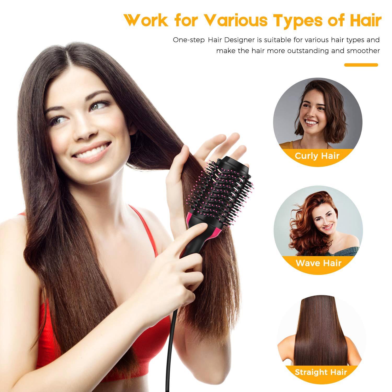 3 IN 1 One  Hair Dryer, Blow Dryer ,Hot Air Brush