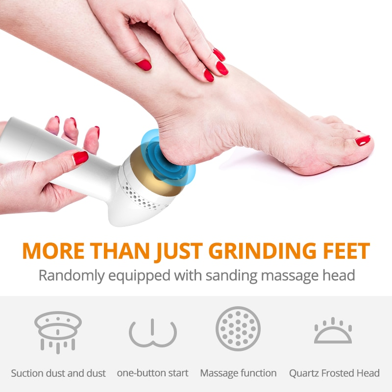 Rechargeable  Electric Foot Grinding Machine - Pedicure Care Tools