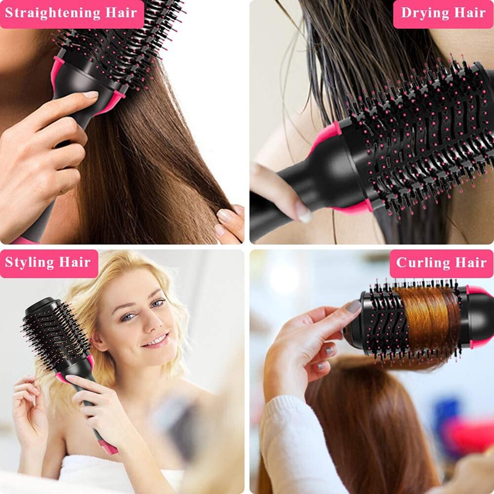 One Step Hair Volumizer ,Professional Dryer Hair Straightener
