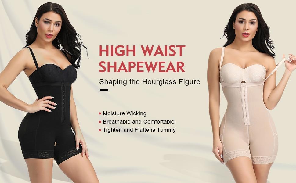 Girdle Body Shaper Bodysuit Butt Lifter Shapewear Modeling Belt