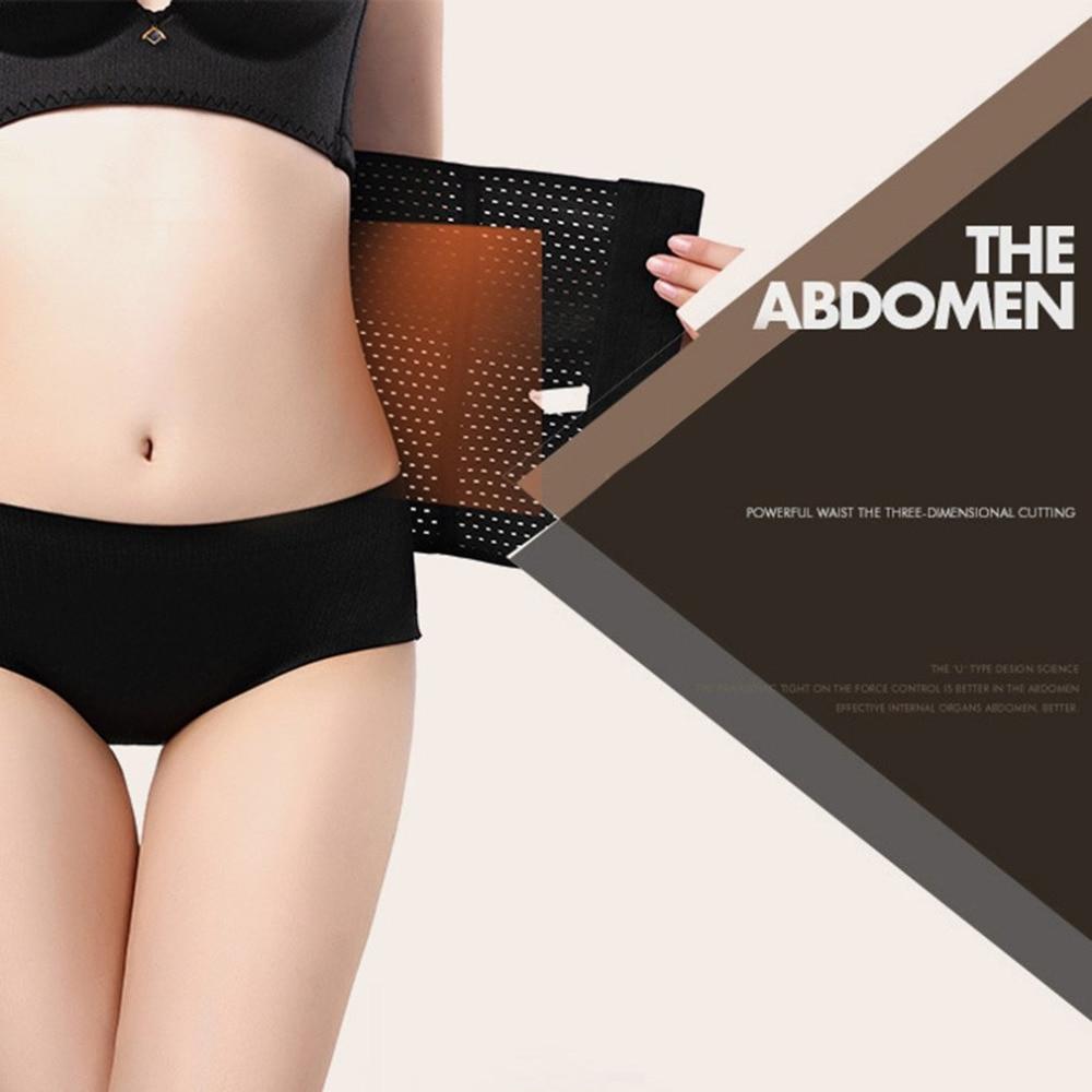 Women Slimming Corset Body Shaper/ Waist Trainer Breathable slimming  Strap Belt