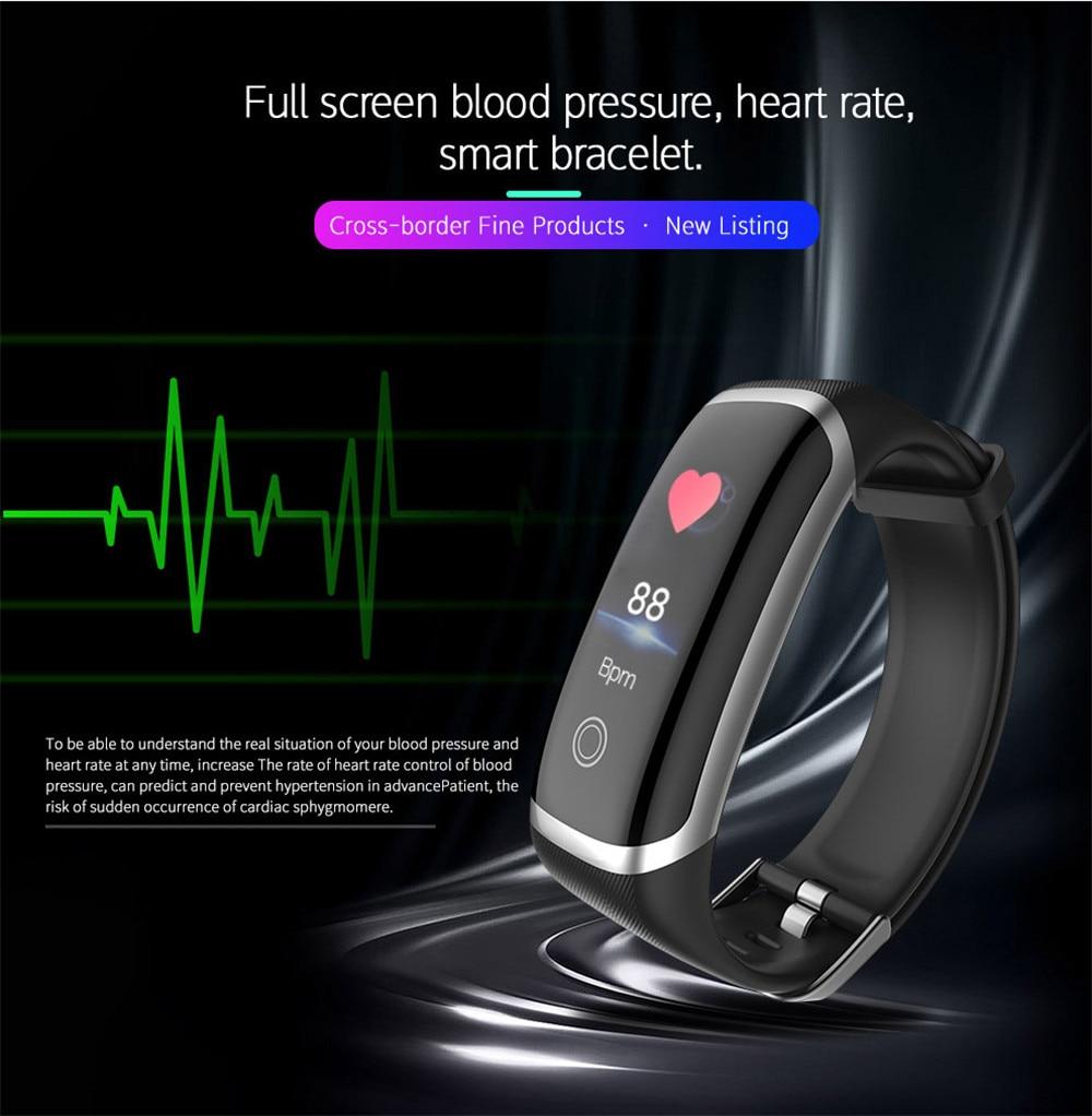 Lerbyee Smart Band, Sleep Monitor Fitness Tracker Blood Pressure
