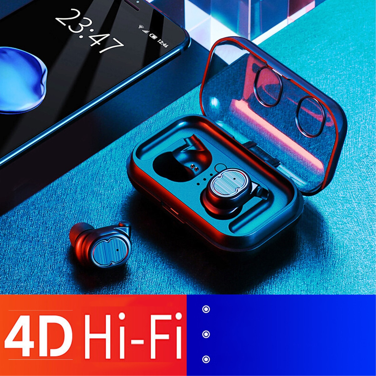 Waterproof Wireless Bluetooth 5.0  Earbuds
