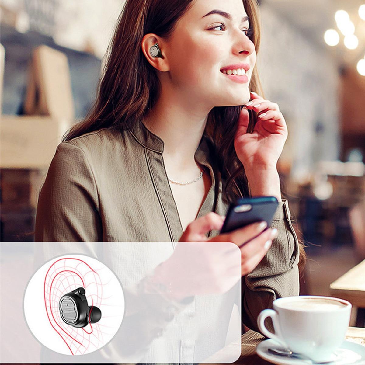 Waterproof Wireless Bluetooth 5.0  Earbuds
