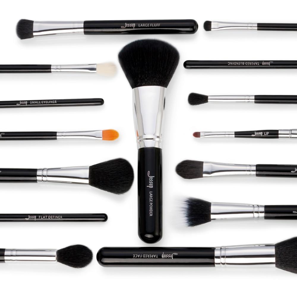 Makeup Brushes Set 15pcs Synthetic Hair