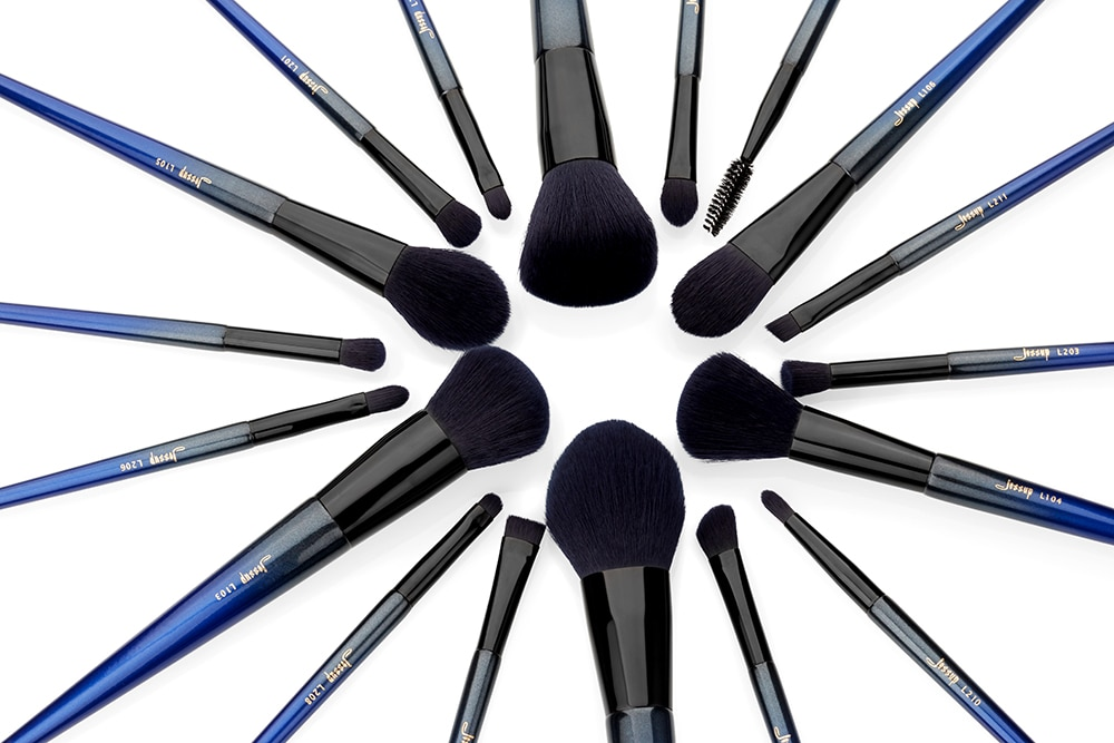 Jessup 18pcs Royal Makeup-Brushes-Set