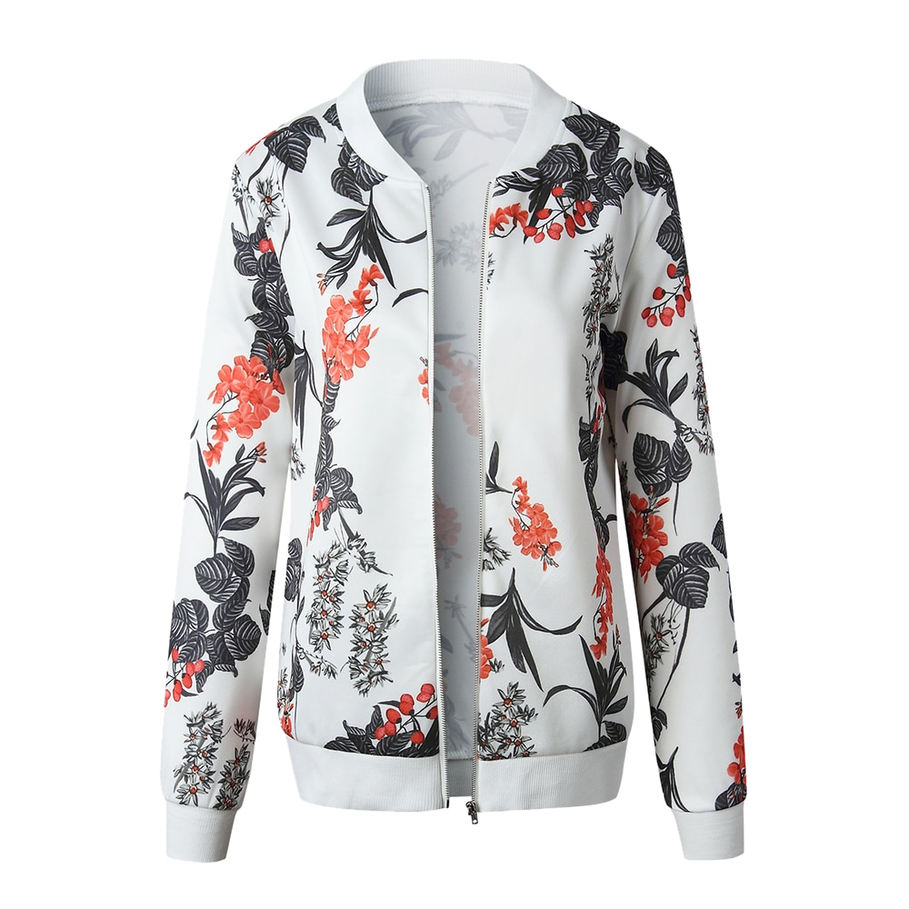 New Floral Printed  Women's Jackets