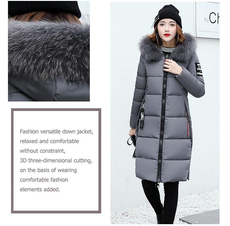 High Quality Warm Hooded Ladies Coat