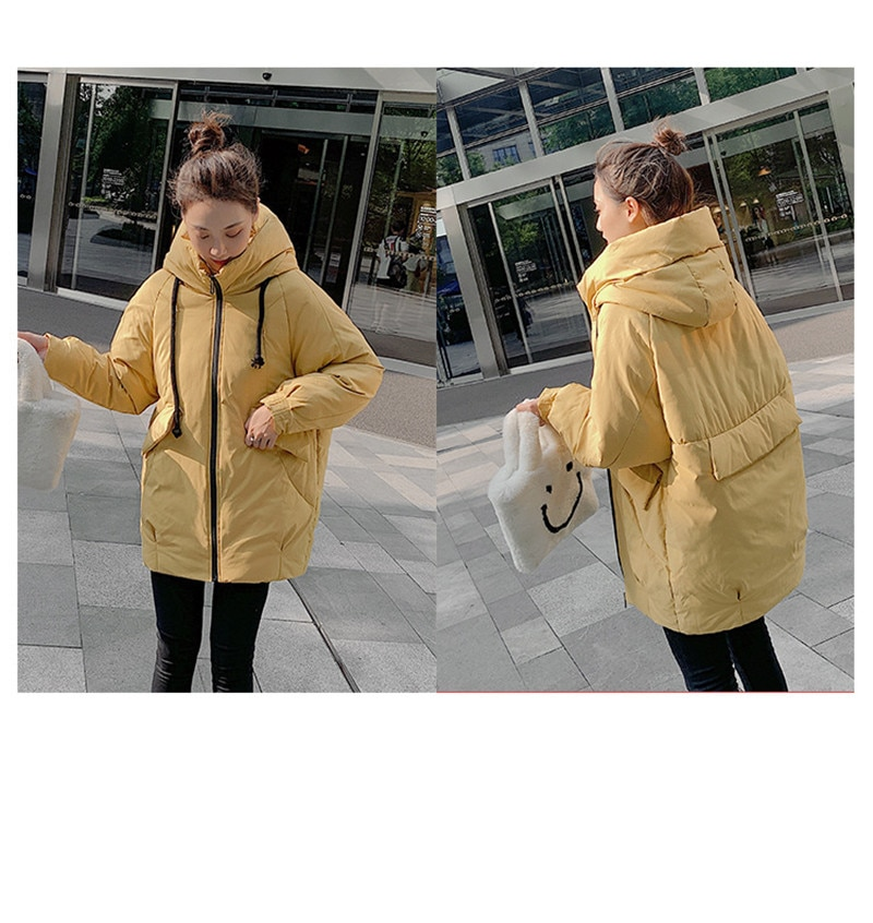 Winter Jacket For Women   Mid-Long Thick Down Jacket