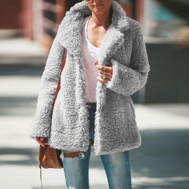 Women Winter European American Long-sleeved Jacket