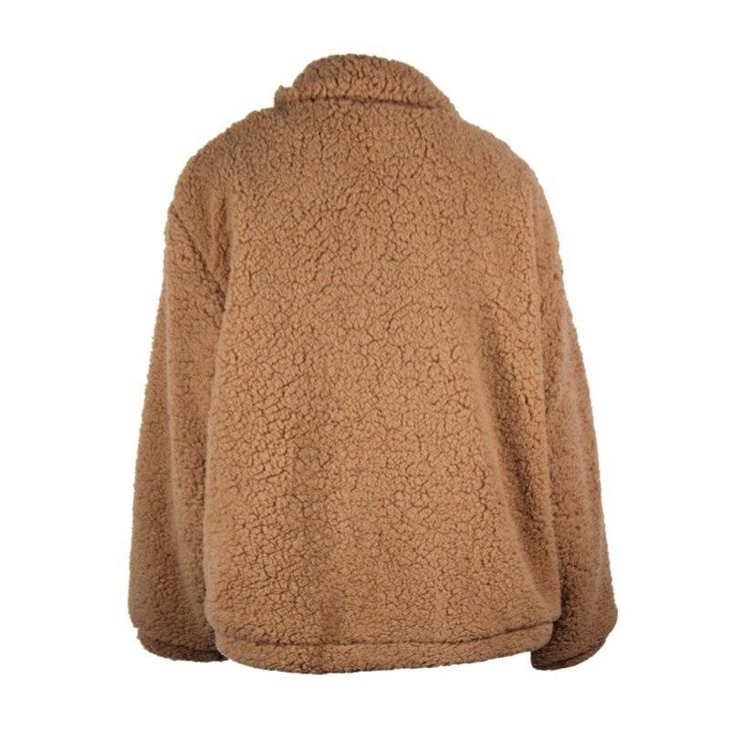 Women Winter Autumn New Style Lamb Wool  Warm Coat