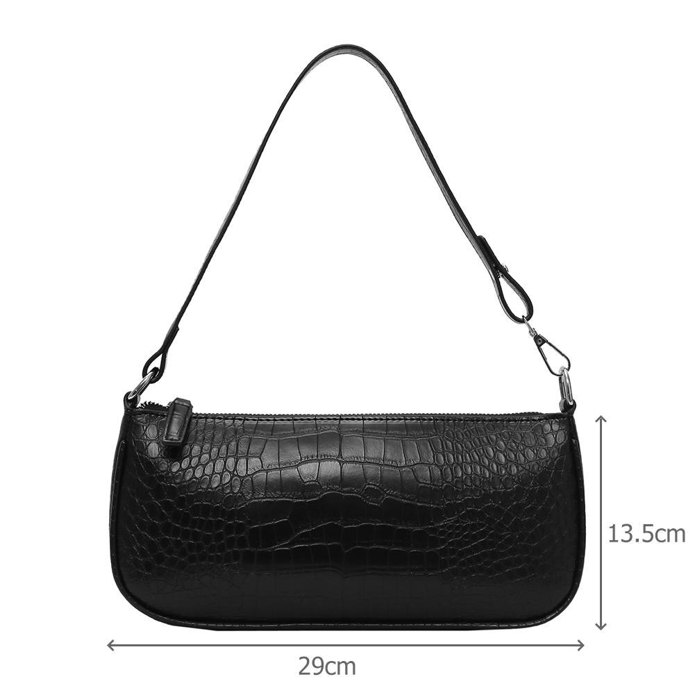 Women Shoulder  PU Leather Bags Crocodile Pattern