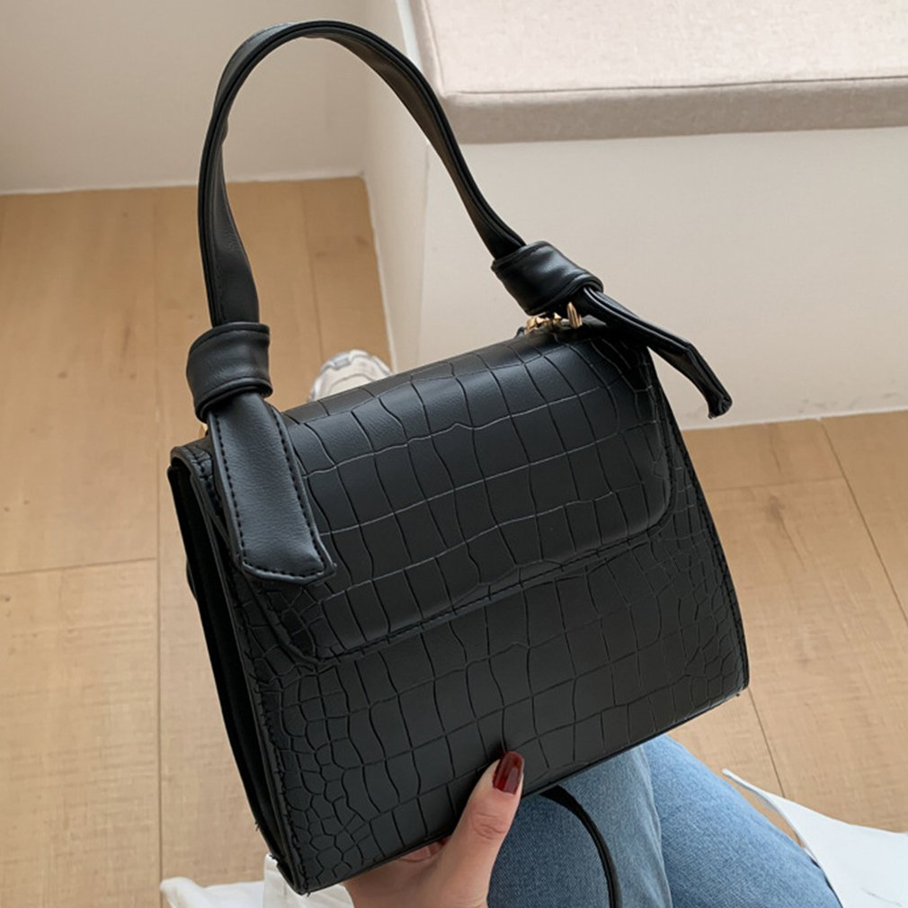 New Small Handbag  Bag  Crocodile Pattern