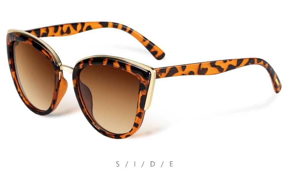 Fashion Sunglasses For Women Vintage Metal Eyewear