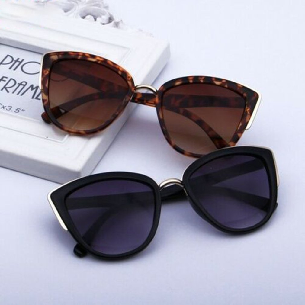 Cat Eye Women Gradient Sunglasses