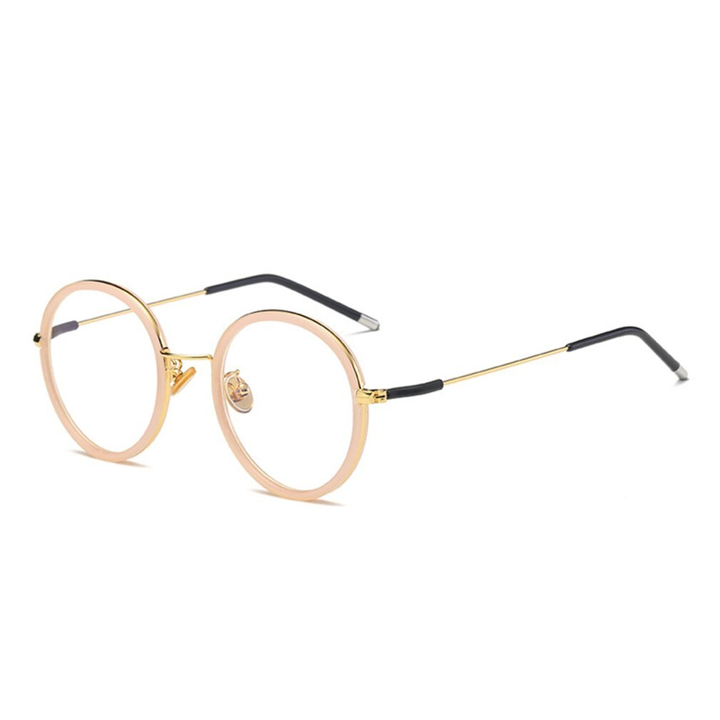 Retro Glasses Literature And Art Retro Flat Mirror Round Glasses