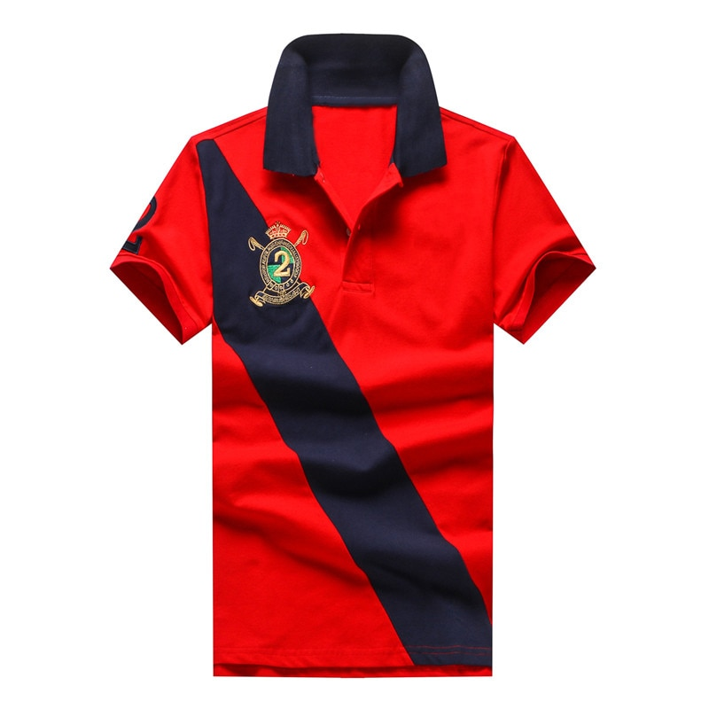 2021 Summer New Hombre Top Short Sleeve Cotton Casual Rugby Polo Shirt Men Camisa Embroidered Ralp Homme Masculine Plus Size 5XL