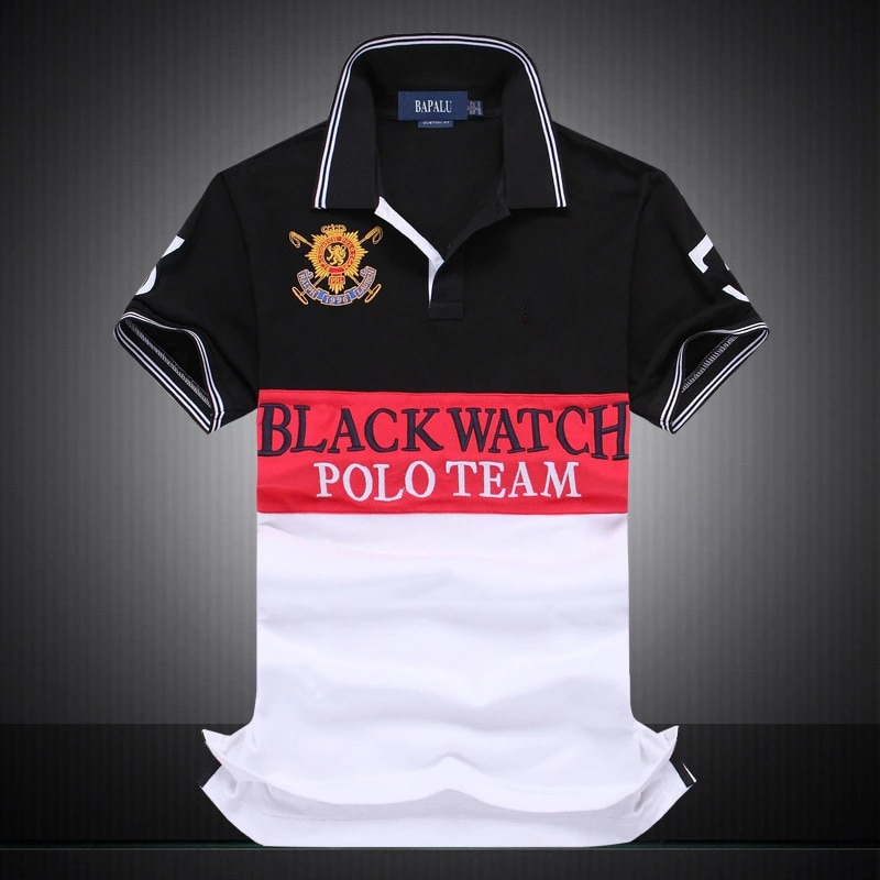 Summer Polo Shirt Cotton Short Sleeved Embroidery Men Homme Masculine Casual Lapel Quality 2021 Clothing Brand Plus Size S-5XL