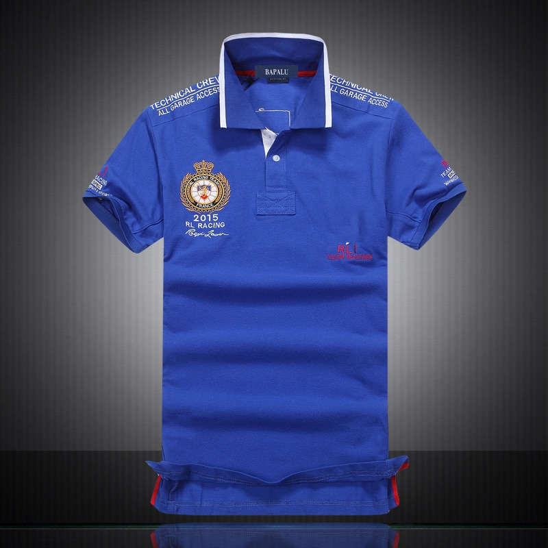 2021 New Brand Clothing Summer Polo Shirt Men Ralp Breathable Short Sleeve Embroidered Lapel Casual Anti-Pilling Plus Size S-5XL