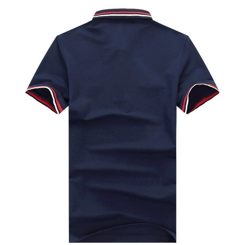 2020 New Camisa Polo Masculina Shirt Men Summer Lapel Male High Quality Solid Shark Brand Casual Cotton Short Sleeve Top Clothes