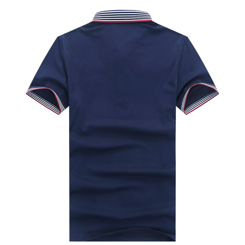 High Quality Cotton Solid Color Lapel Breathable Polo Shirt Men Short Sleeve Casual Summer 2020 New Shark Brand Clothing Hombre