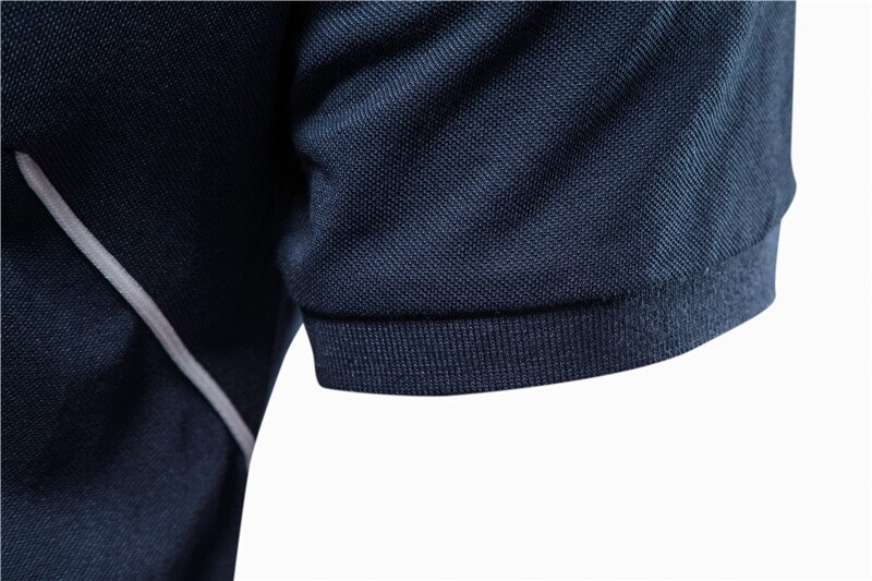 2020 New Summer POLO Giraffe Brand Quality Cotton Polo Shirt Men Short Sleeve Sporting Mens Polos Embroidery Mens Tops Tee Shirt