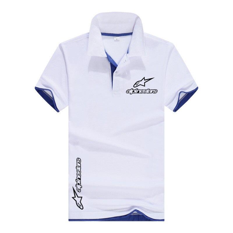 Spring summer short Sleeve Polo Shirt men fashion polo shirts casual Slim Solid Color contrast men's polo shirts men's clothing
