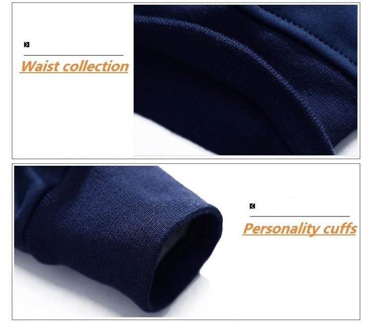 Autumn Men Tracksuit Sets Polyester Sweatshirt 2020 Spring Jacket Running Pants Casual Men's Brand Clothing Printed Sportswear