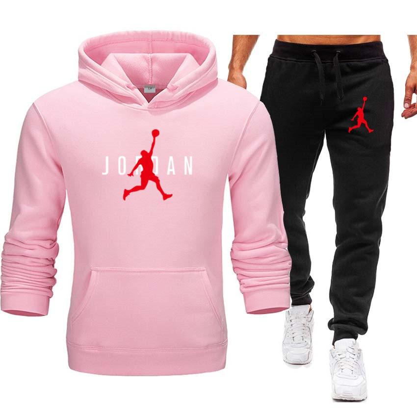 2021 New Year Hot Brand Hoodie Men's Sportswear Fleece Winter Fashion Warm Casual Jordan Pullover Women Street Hip Hop Clothing