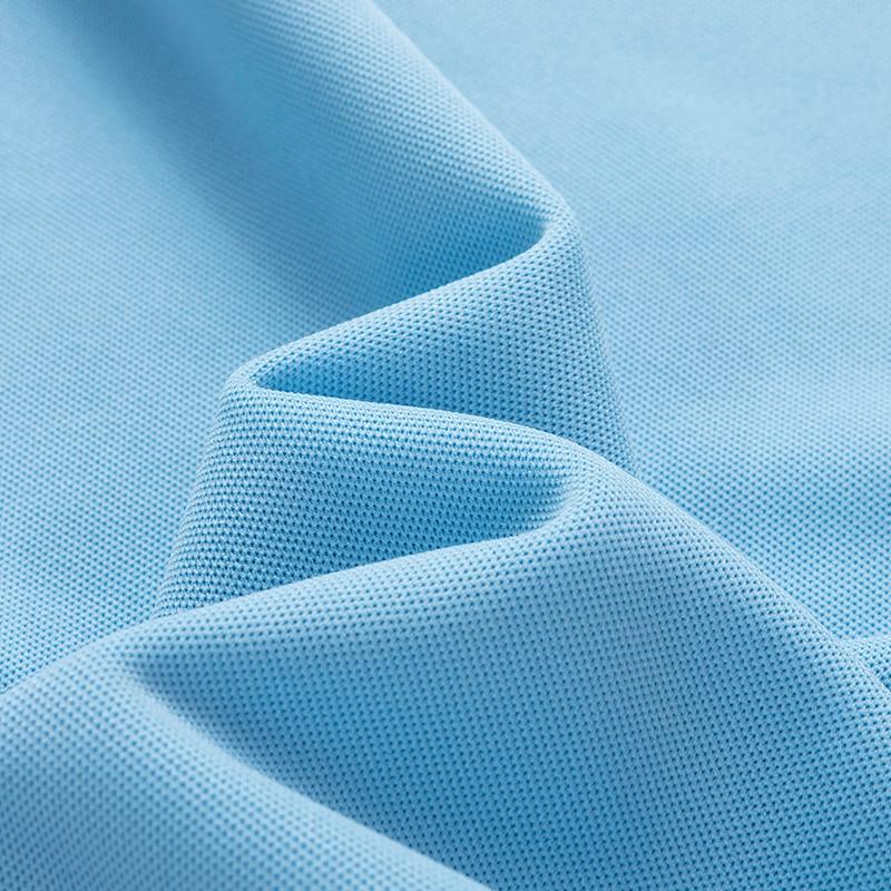 Summer men Polo Shirt 95%synthetic fiber Polo Shirt Mens Short Sleeve Polo Shirt men Embroidered Business Casual Polo Shirt 1733